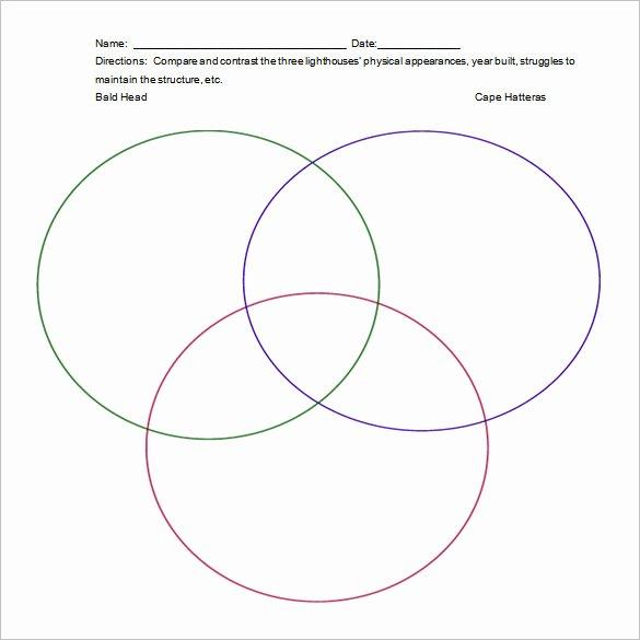 Venn Diagram Template Word Elegant 7 Triple Venn Diagram Templates Free Sample Example