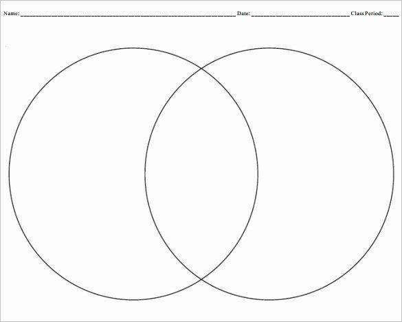 Venn Diagram Template Word Inspirational Blank Venn Diagram Templates – 10 Free Word Pdf format