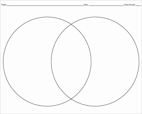 Venn Diagram Template Word Luxury Blank Venn Diagram Templates – 10 Free Word Pdf format