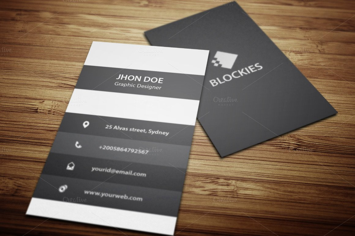 Vertical Business Card Template Beautiful An Exclusive Vertical Business Card Business Card
