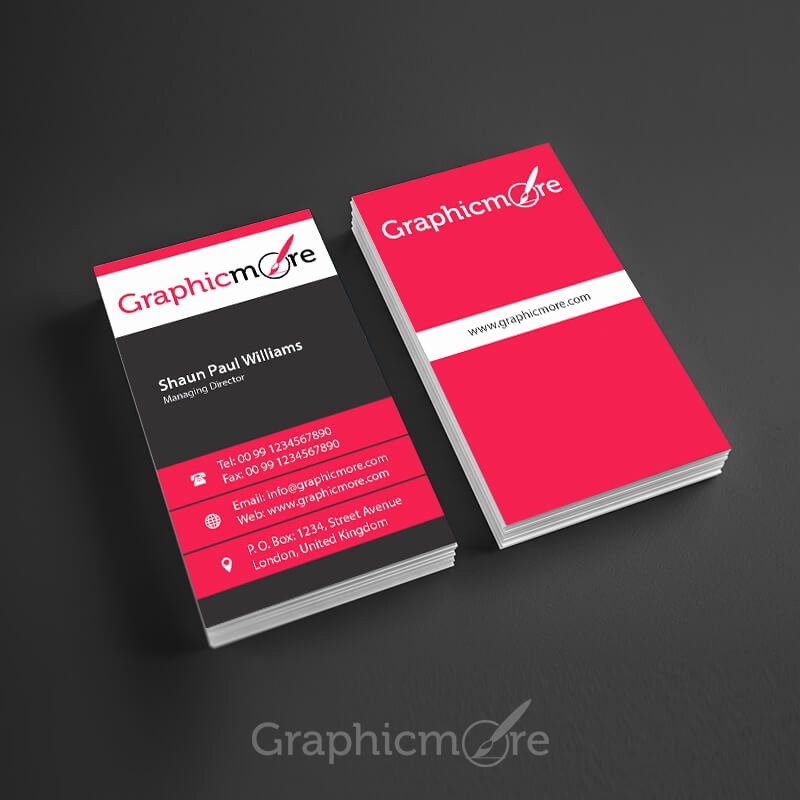 Vertical Business Card Template Best Of 30 Free Vertical Business Card Mockups Psd Templates