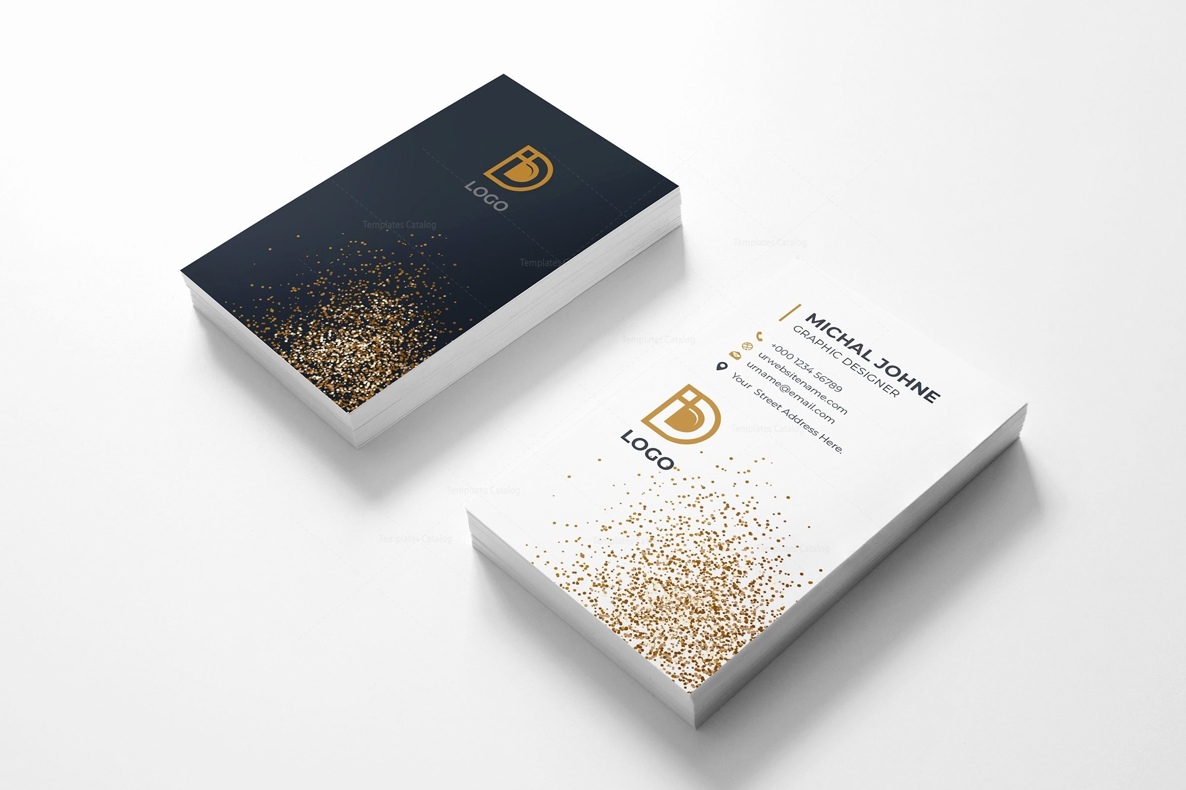 Vertical Business Card Template Best Of Digital Pany Vertical Business Card Design Template