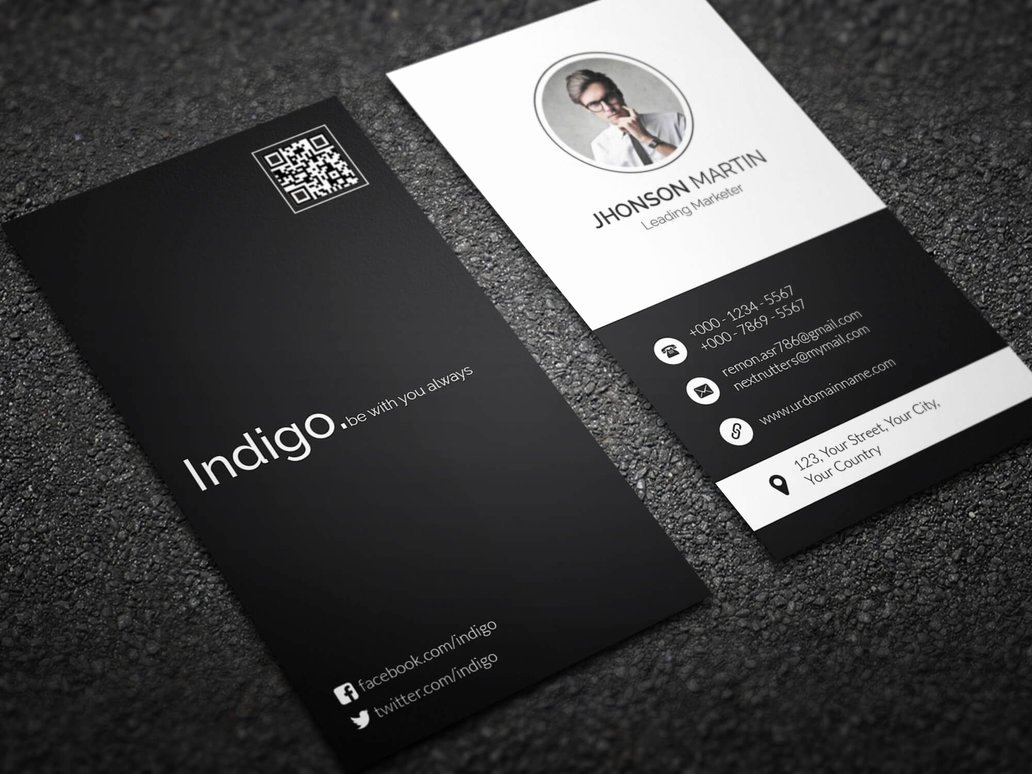Vertical Business Card Template Elegant Minimal Vertical Business Card by Remon92 On Deviantart