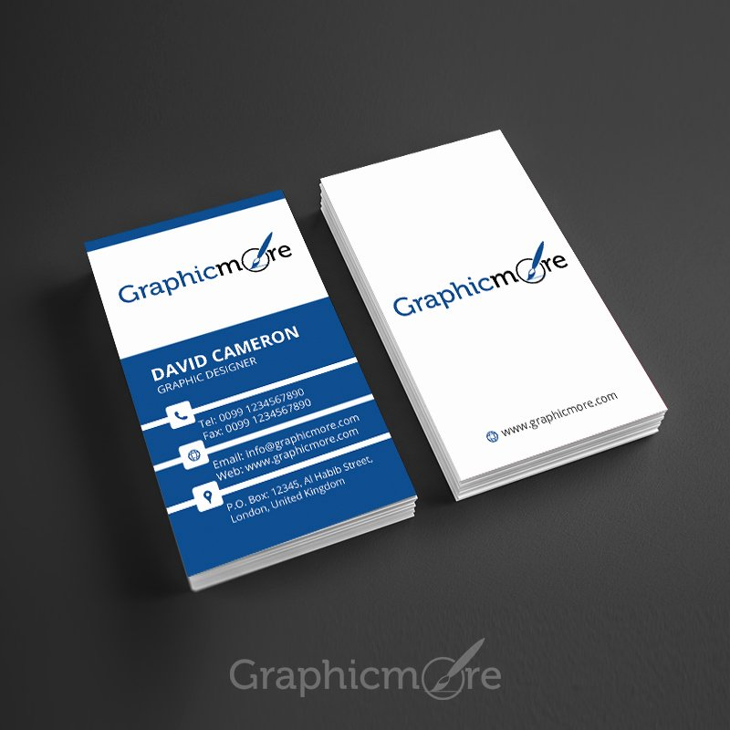 Vertical Business Card Template Fresh 25 Best Free Business Card Psd Templates for 2016