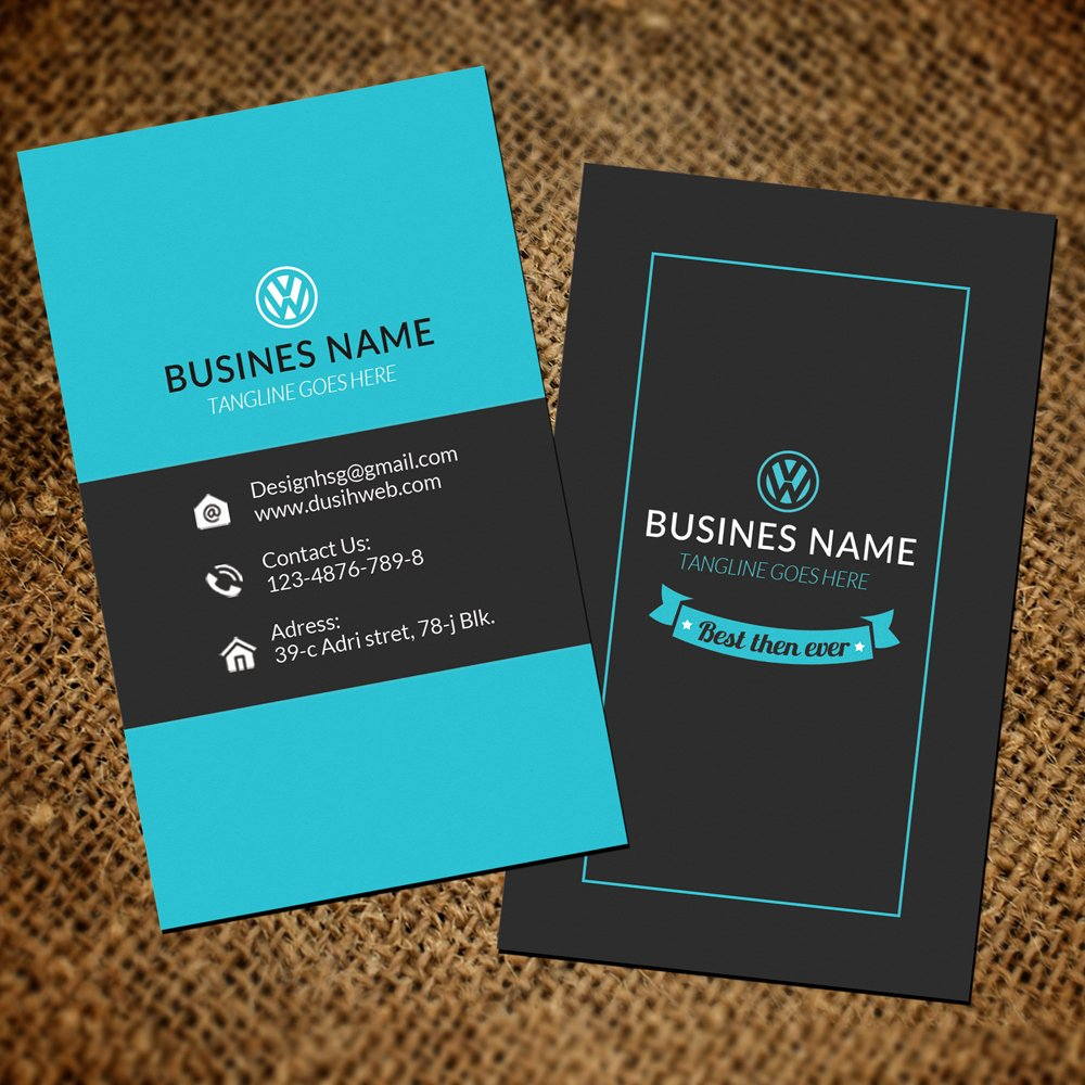 Vertical Business Card Template Unique Unique Business Card Template for Shop Offers