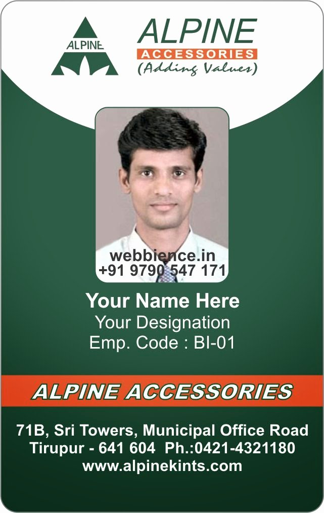 Vertical Id Badge Template Fresh Id Card Coimbatore Ph Beautiful Id