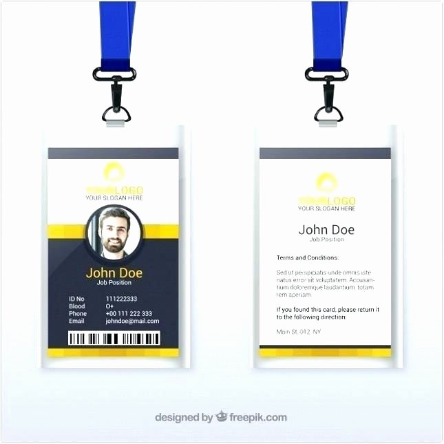 Vertical Id Badge Template Inspirational Identification Badge Template Doctor Id Badges Free Word
