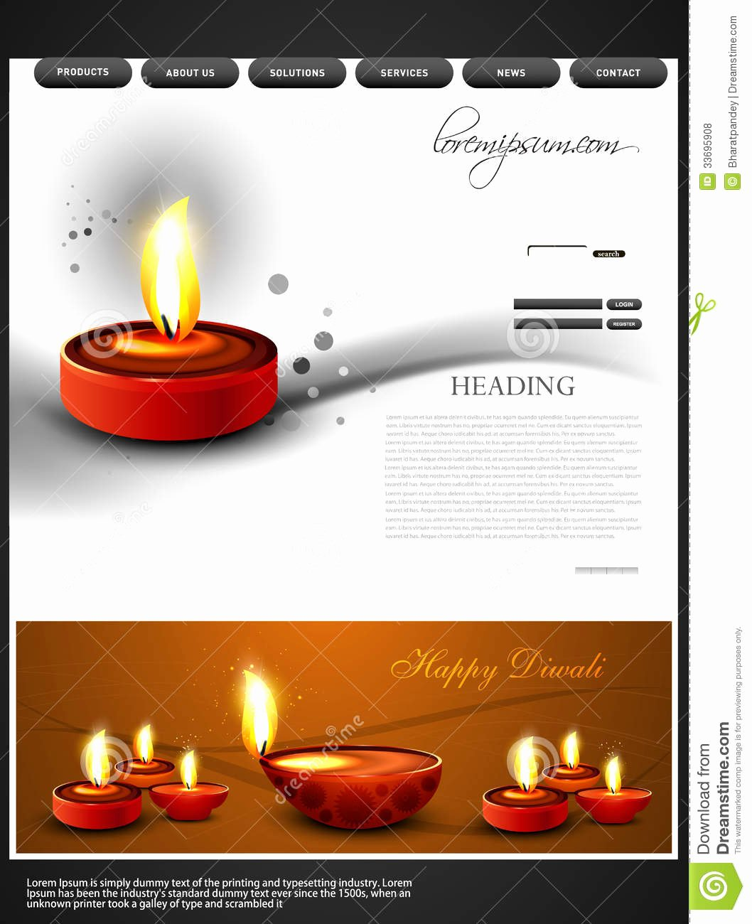 Video Background Website Template Best Of Beautiful Happy Diwali Colorful Hindu Festival Web Stock