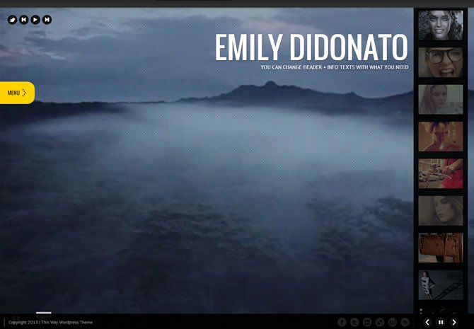 Video Background Website Template Elegant Creative Website Templates Using Video Backgrounds