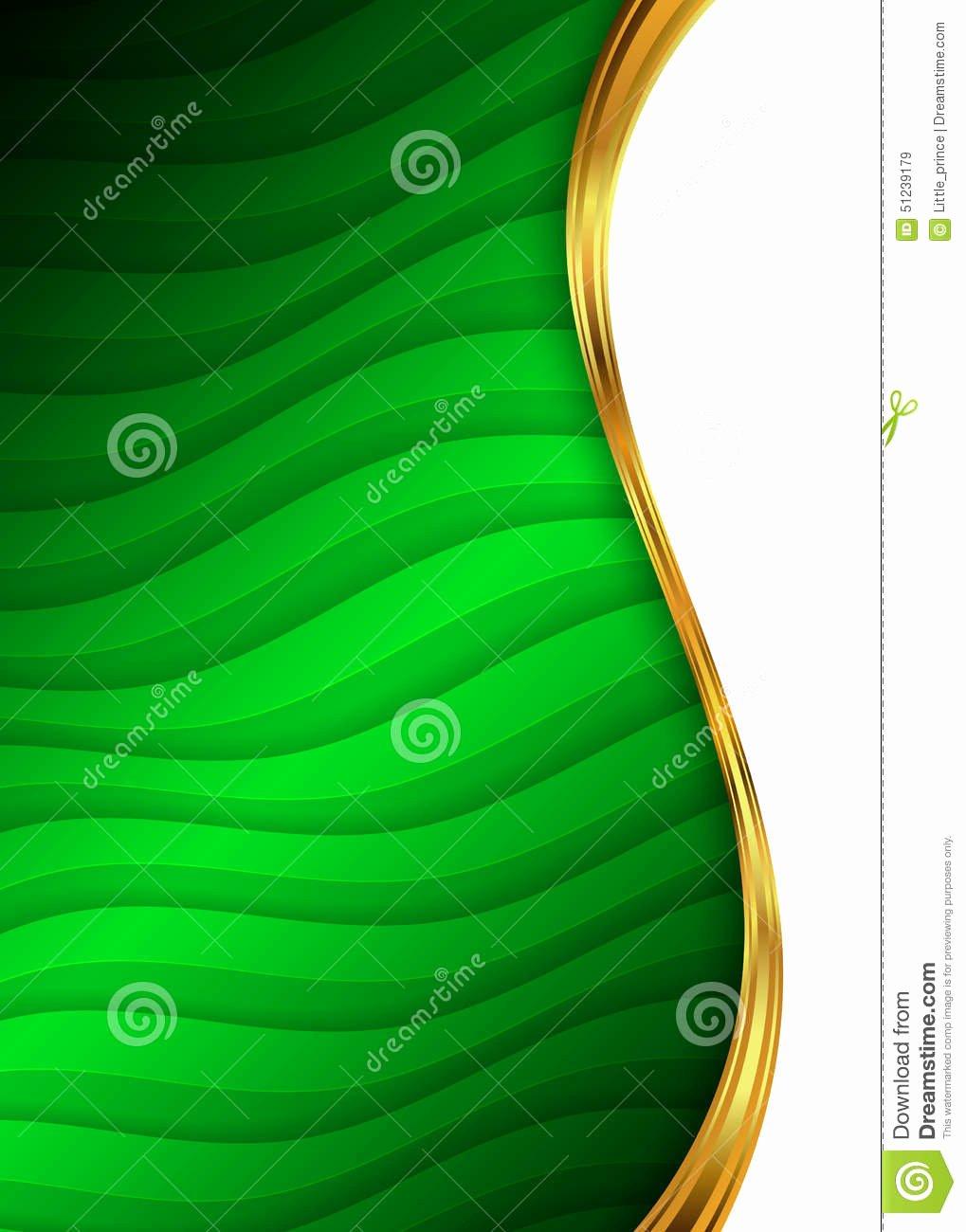 Video Background Website Template Fresh Green and Gold Abstract Background Template for Website
