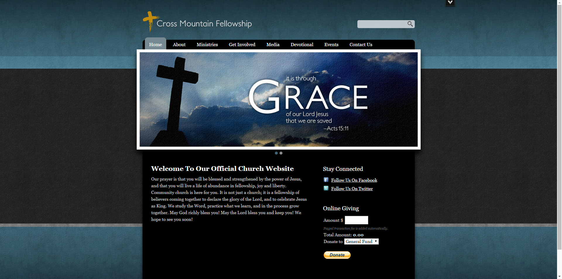 Video Background Website Template Unique 30 Best Church Website Templates for Ministry and Outreach