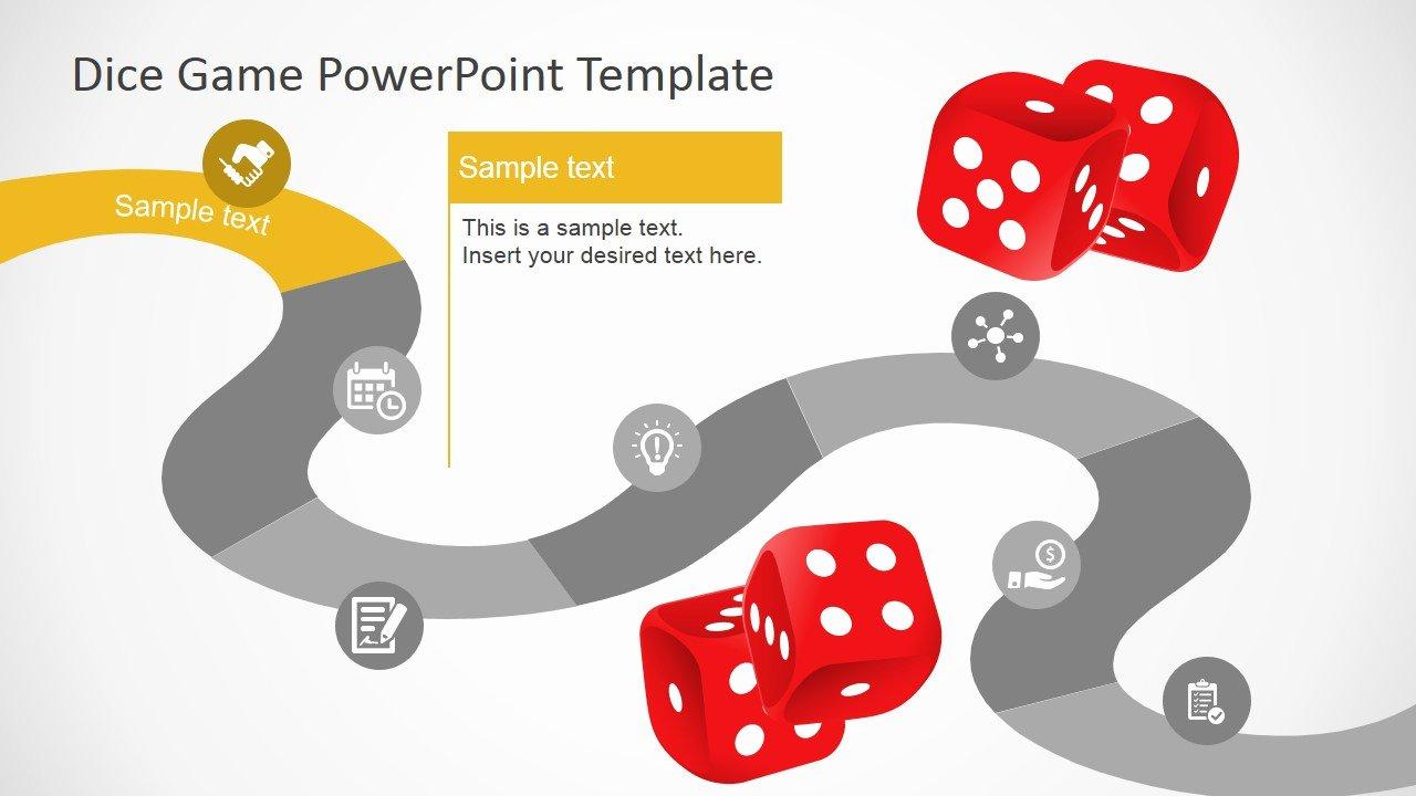 Video Game Powerpoint Template Elegant Board Game Powerpoint Template Slidemodel