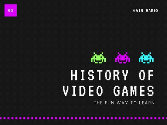 Video Game Ppt Template Awesome Creative Presentation Templates Canva
