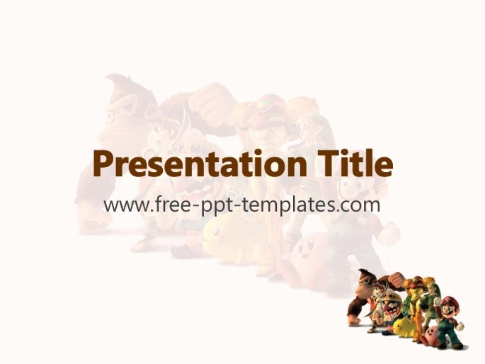 Video Game Ppt Template Awesome Video Game Ppt Template