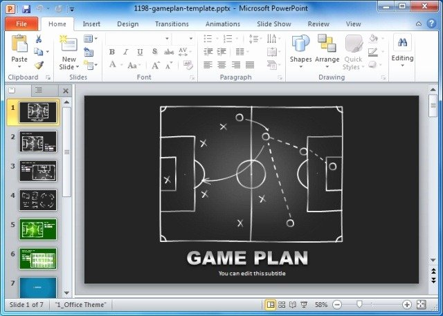 Video Game Ppt Template Fresh Game Plan Powerpoint Templates for Sports and Strategic