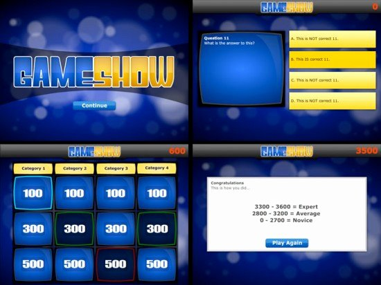 Video Game Ppt Template Lovely Game Show Powerpoint Template
