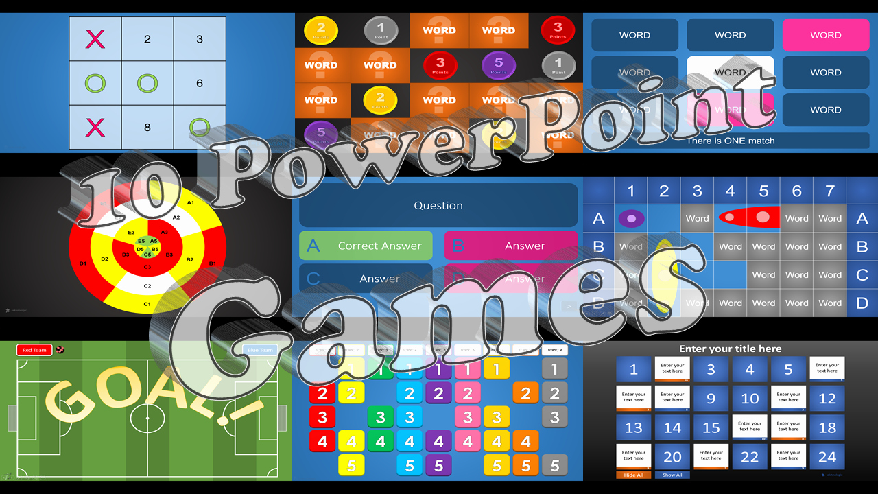 Video Game Ppt Template Luxury 10 Powerpoint Games – Tekhnologic