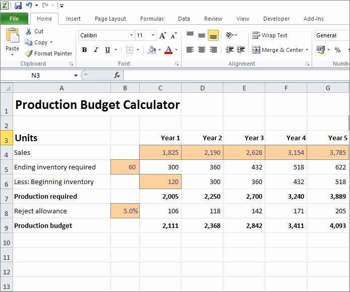 Video Production Budget Template Inspirational Production Bud Calculator for A Business Plan