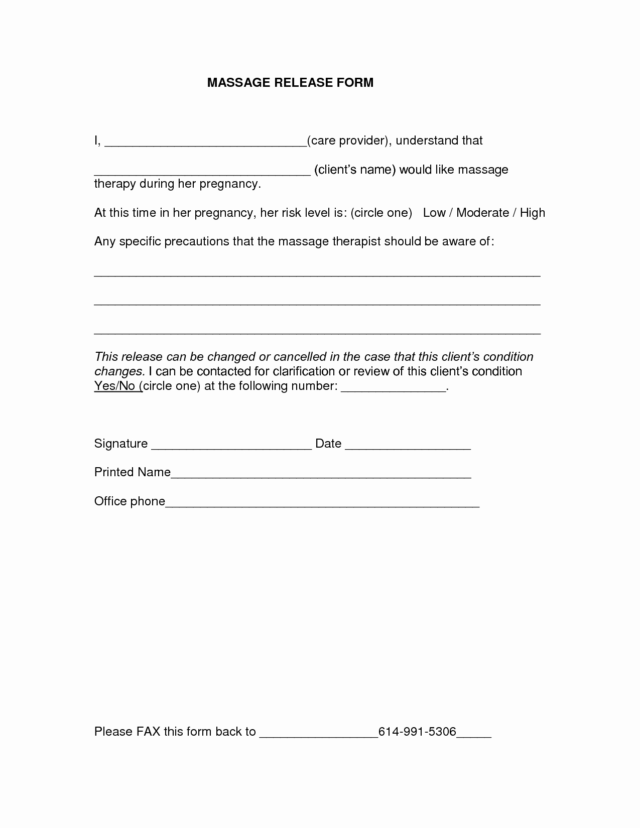Video Release forms Template Elegant Release form Template