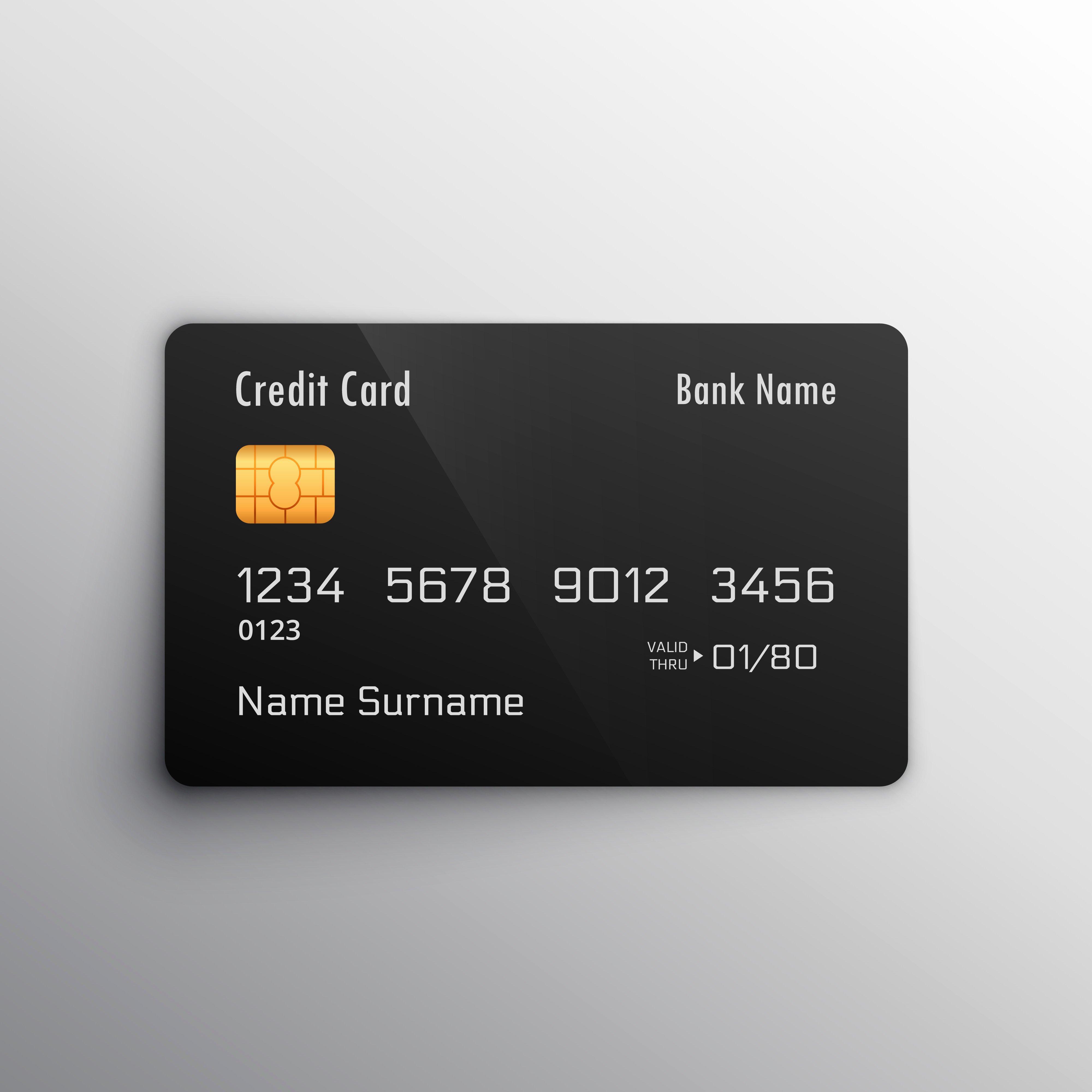 Visa Credit Card Template Best Of Credit Debit Card Mockup Download Free Vector Art Stock