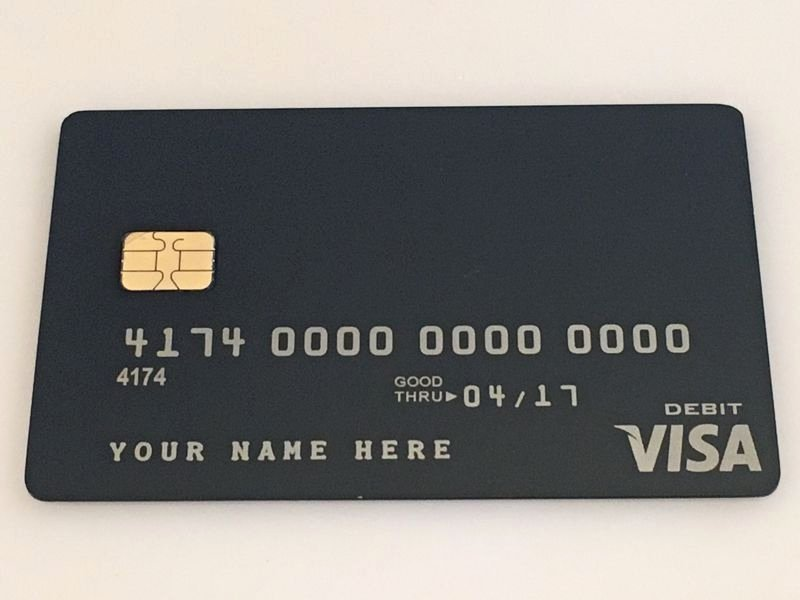 Visa Credit Card Template Elegant order now Metal Credit Card