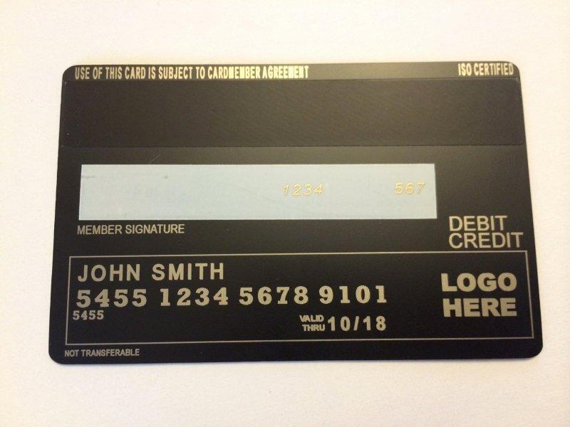 Visa Credit Card Template Fresh order now Metal Credit Card