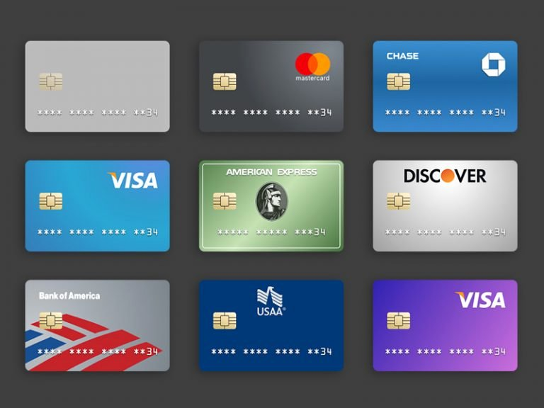 Visa Credit Card Template Lovely Credit Card Template