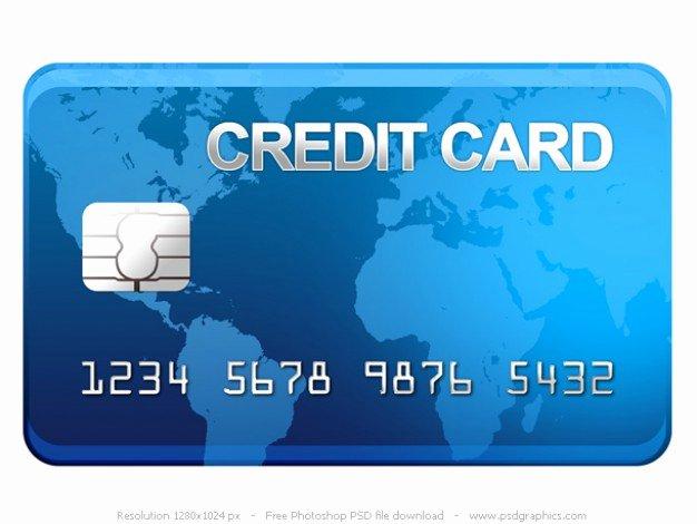 Visa Credit Card Template New Psd Tarjeta De Crédito Icono