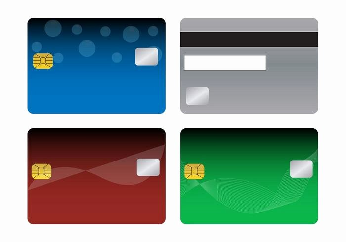 Visa Credit Card Template Unique Bank Cards Templates Download Free Vector Art Stock