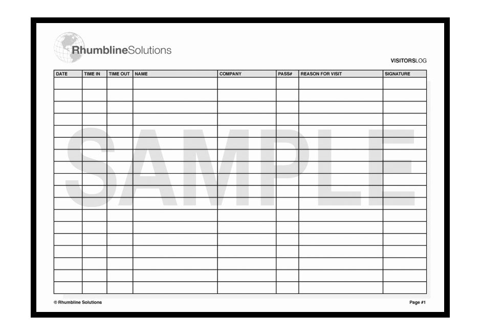 Visitor Log Book Template Elegant Boat Engine Room Boat Free Engine Image for User Manual