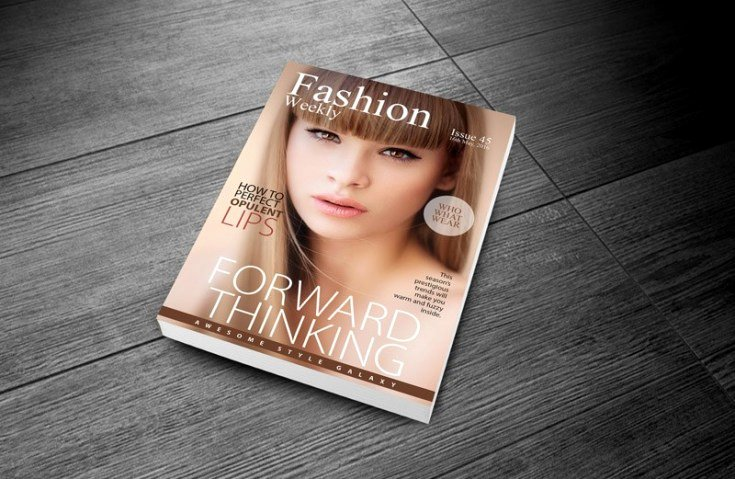 Vogue Magazine Cover Template Beautiful Free Fashion Magazine Cover Template Free Download