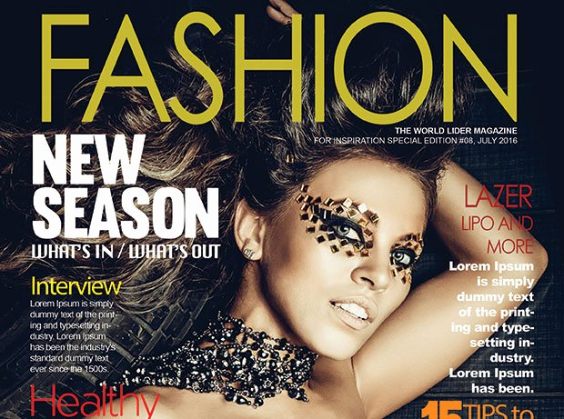 Vogue Magazine Cover Template Fresh Fashion Magazine Cover Psd Template – Graphicloads