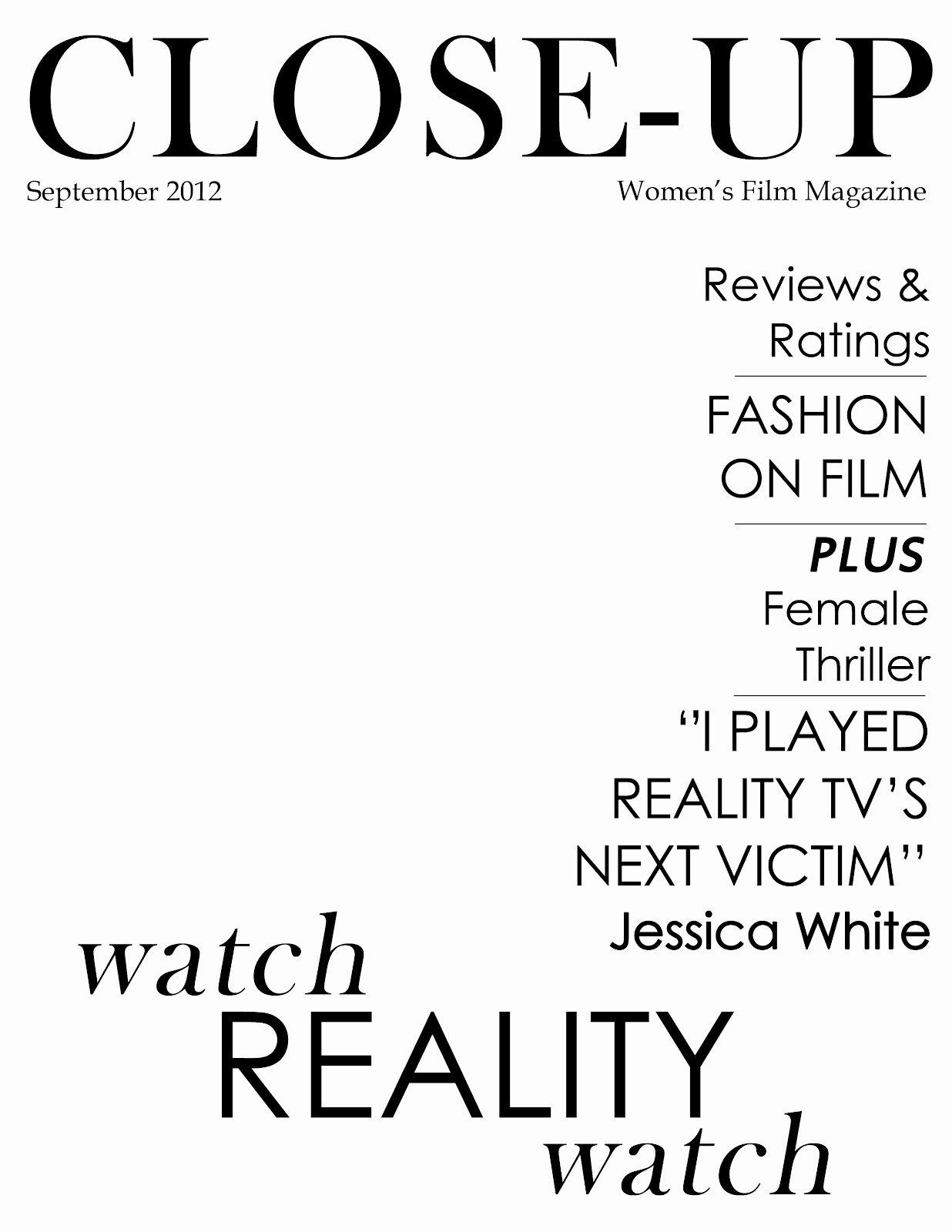 Vogue Magazine Cover Template Inspirational 10 Best Of Blank Vogue Magazine Covers Blank