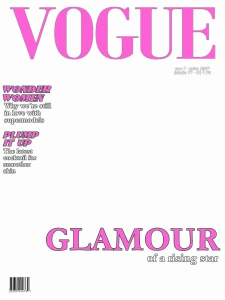 Vogue Magazine Cover Template Lovely Blank Magazine Covers Icely Pinterest