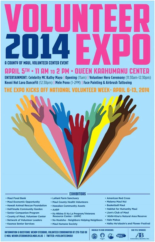 Volunteer Flyer Template Free Awesome Flyersup Volunteer Expo at Queen Ka Ahumanu Center