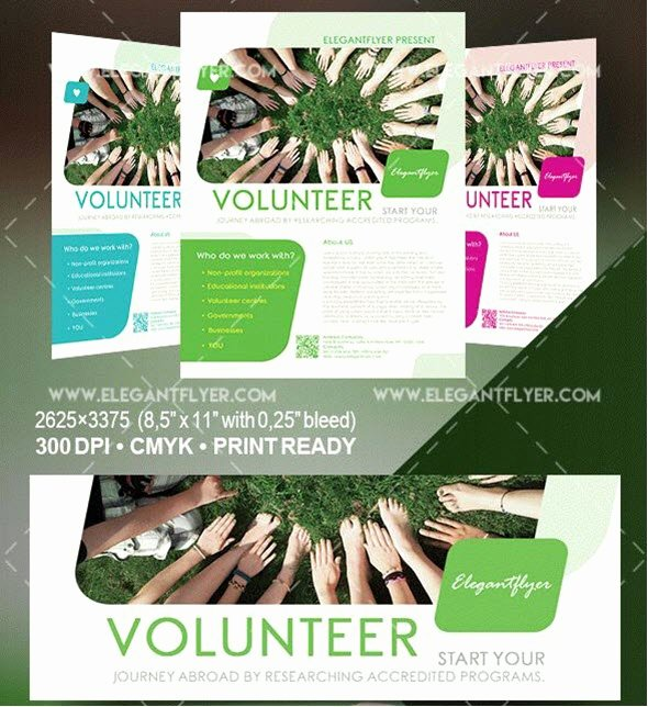 Volunteer Flyer Template Free Best Of 20 Best Free and Premium Non Profit Flyer & Brochure Psd