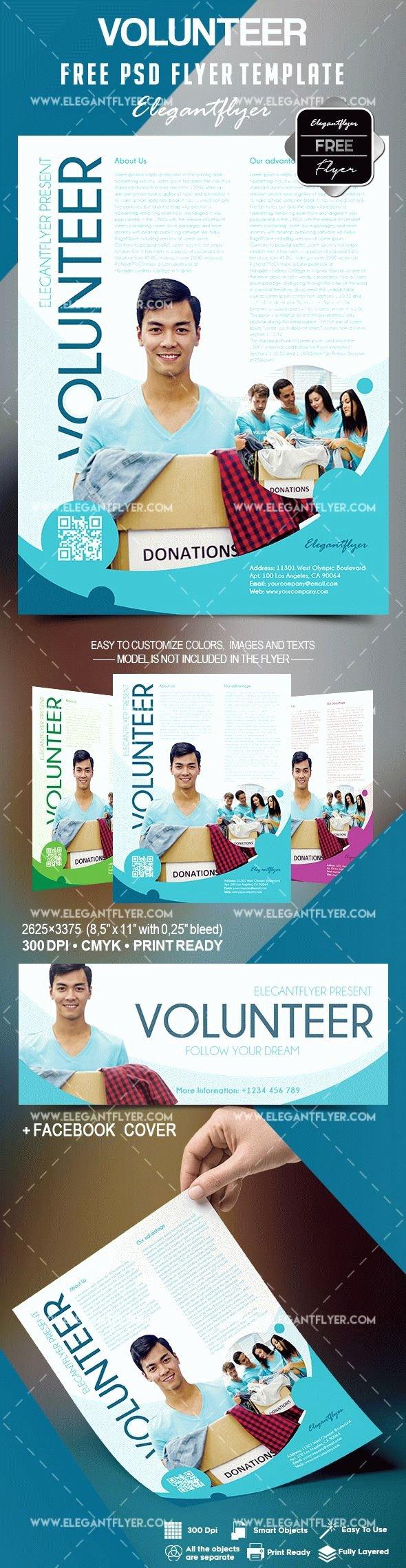 Volunteer Flyer Template Free Best Of Free Volunteer Flyer Template – by Elegantflyer