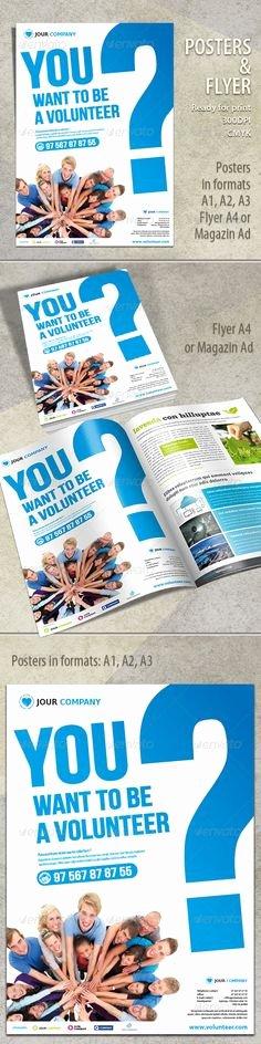 Volunteer Flyer Template Free Fresh Bright Bold Volunteer Flyer Template
