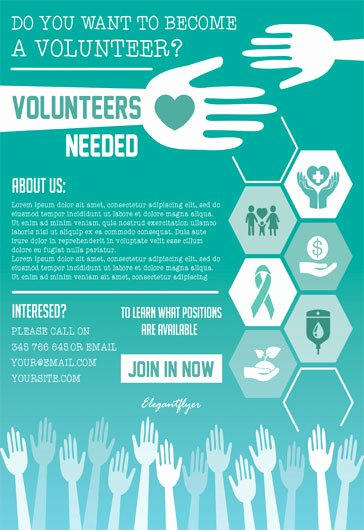 Volunteer Flyer Template Free Fresh Free Psd Flyers Templates for event Club Party and