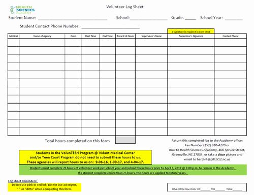 Volunteer Hours Log Template Elegant Volunteer Log Related Keywords Volunteer Log Long Tail