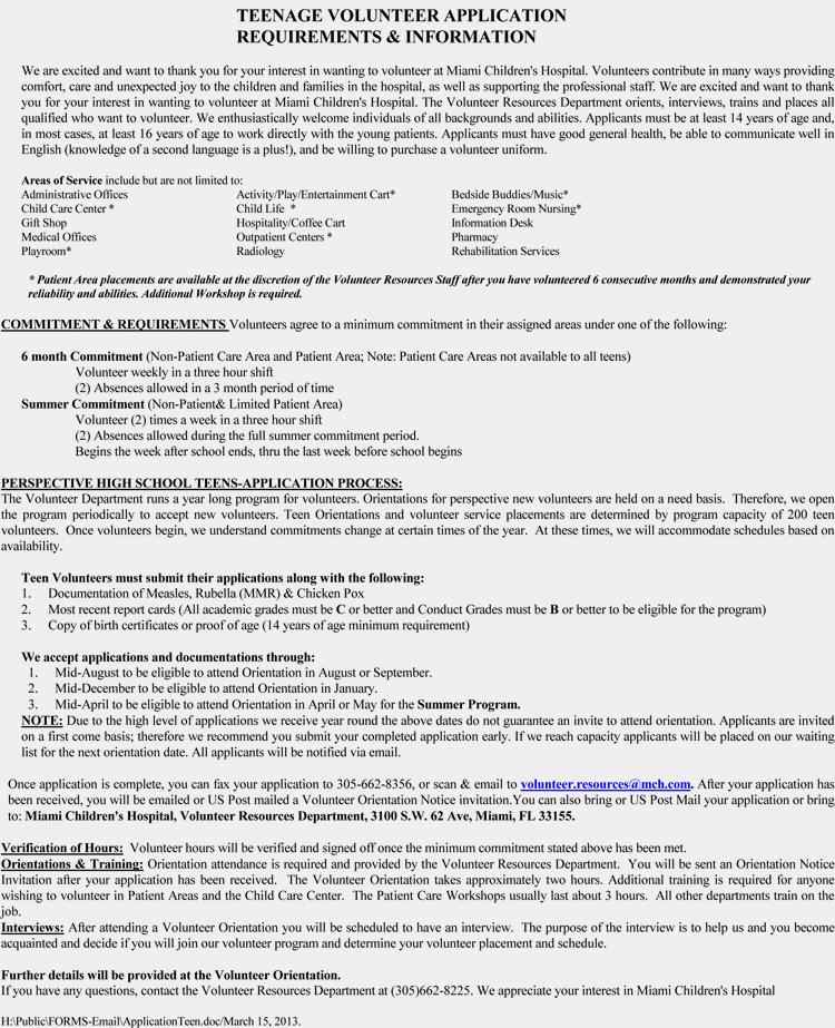 Volunteers Application form Template Elegant Blank Volunteer Application form Templates Download