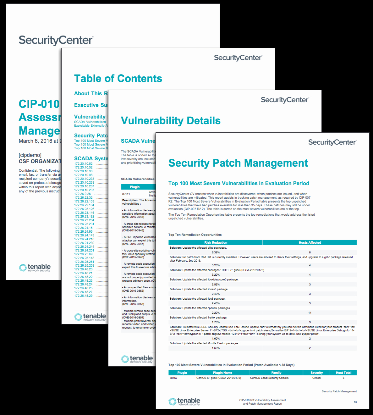 Vulnerability assessment Report Template Lovely Cip 010 R3 Vulnerability assessment and Patch Management