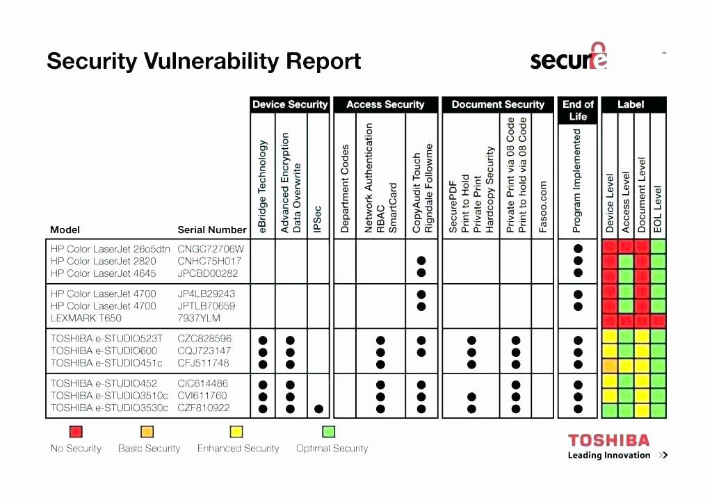 Vulnerability assessment Report Template Unique Step Vulnerability Management Template Process Food Fraud