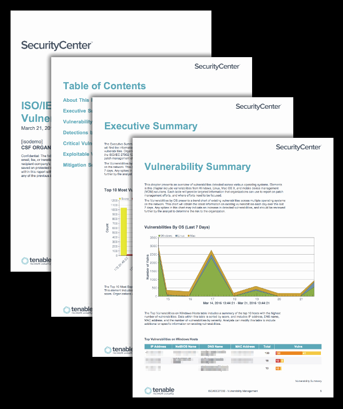 Vulnerability Management Program Template Unique iso Iec Vulnerability Management Sc Report