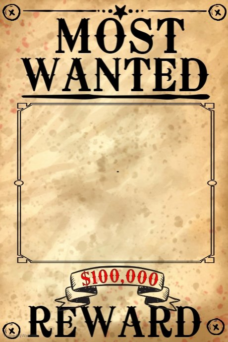 Wanted Poster Template Free Fresh Blank Wanted Poster Template