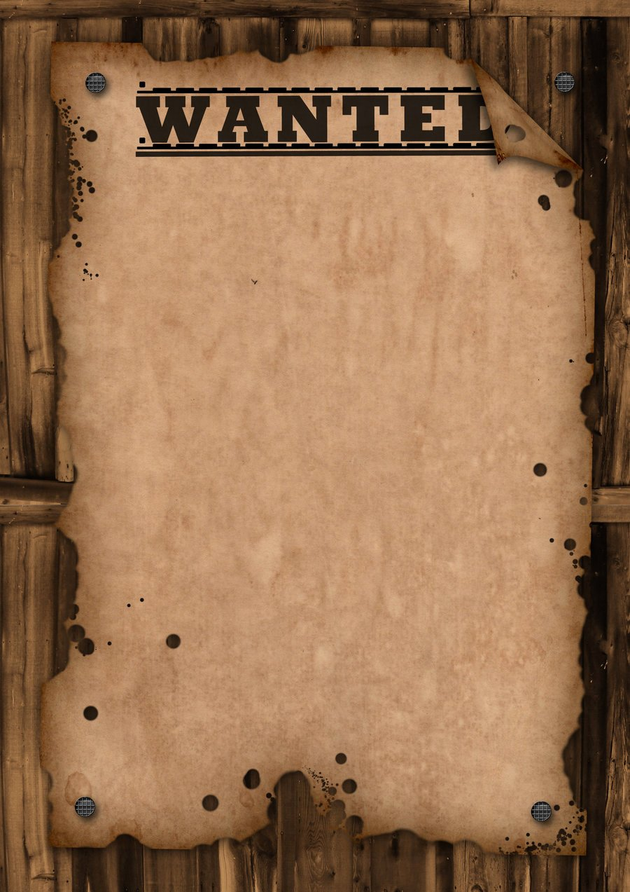 Wanted Poster Template Free Fresh Wanted Template by Maxemilliam On Deviantart