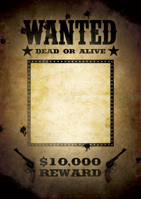 Wanted Poster Template Free Inspirational 29 Free Wanted Poster Templates Fbi and Old West