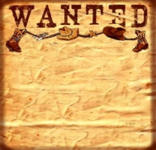Wanted Poster Template Free Lovely 6 Best Of Free Printable Western Templates
