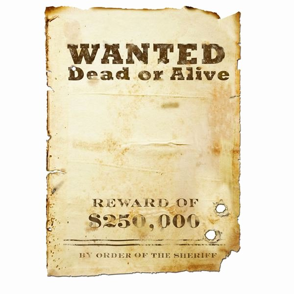 Wanted Poster Template Free Luxury 8 Best Of Free Printable Wanted Posters Printable