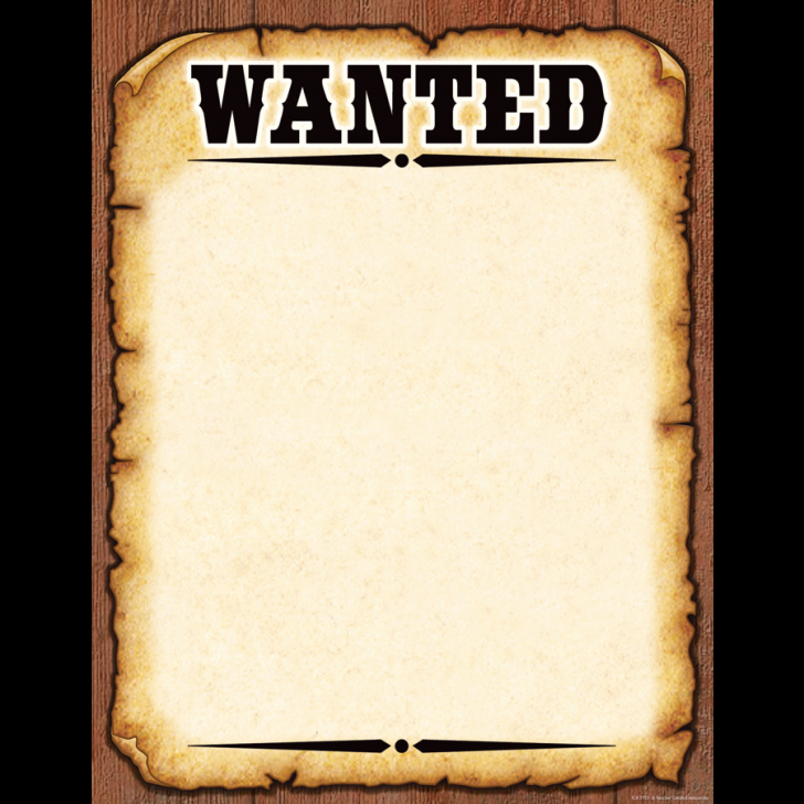 Wanted Poster Template Free Unique Template Wanted Poster Template